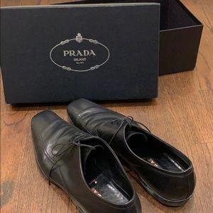 Prada Black Dress Shoes!